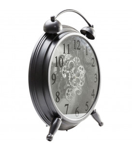 Reloj mesa Gear negro