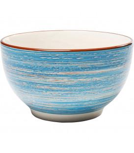 Taza muesli Swirl azul Ø14cm
