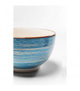 Cuenco Swirl azul Ø14cm