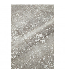 Alfombra Hide Acid Wash plata
