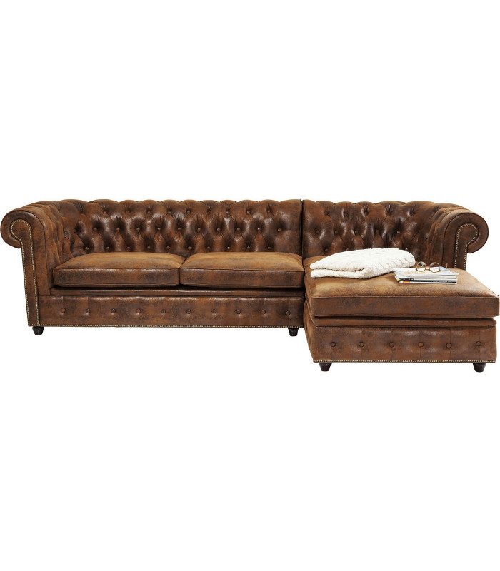Sofa Esquinero Cambridge Vintage Eco Dcha Kare Design
