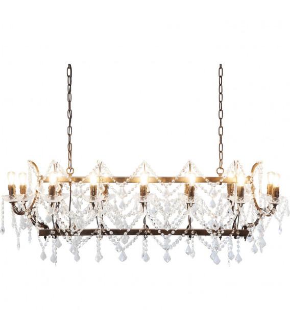 Lámpara Chateau Crystal Rusty