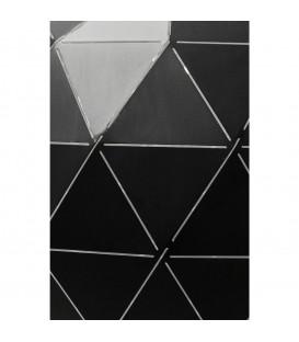 Lámpara Triangle negro Ø40cm