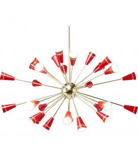 Lámpara Atmosphere Brass-Red