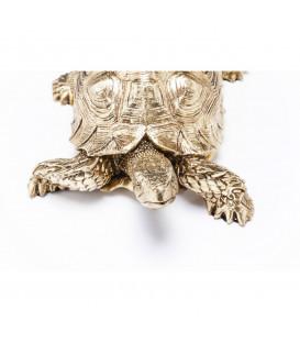 Figura decorativa Tortuga oro peq