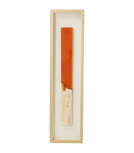 Marco decorativo Match naranja 120x30cm