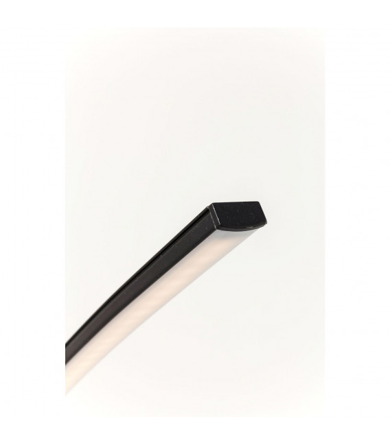 Lámpara de pie Codolo negro LED