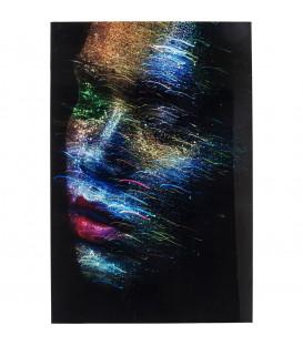Cuadro Cristal Face the World Profil 120x80