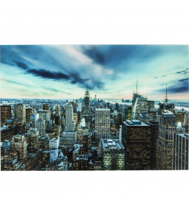Cuadro cristal New York Sunset  160x120cm
