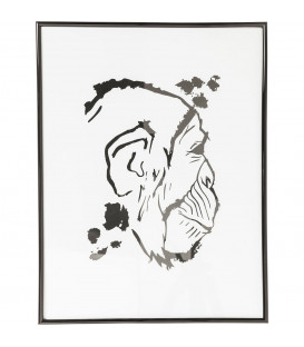 Cuadro Monkey Face 50x38cm