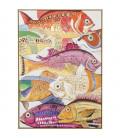 Cuadro Fish Meeting One 100x70 cm