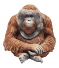 Figura decorativa Orangutan mediano
