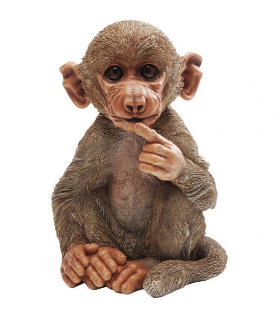 Figura decorativa Baby Baboon
