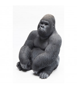 Figura decorativa Gorilla Side mediano