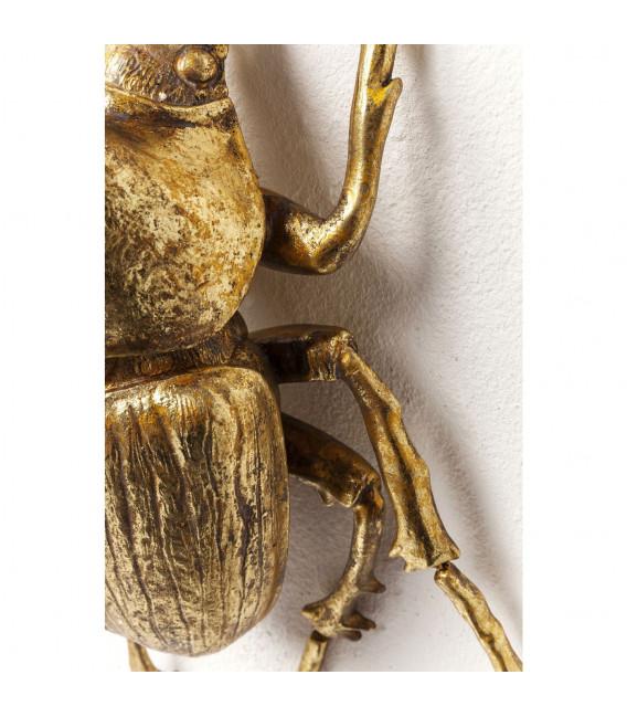 Decoración pared Herkules Beetle oro
