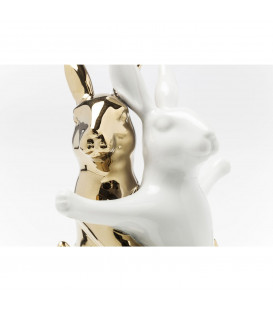 Figura decorativa Hugging Rabbits Medium