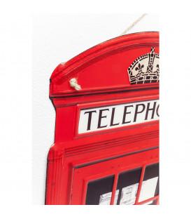Decoración pared London Telephone