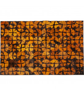 Alfombra Batik naranja 240x170cm