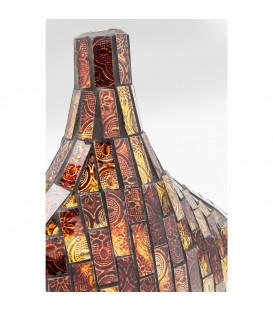 Vasija Mosaico marrón 33cm