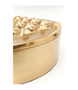 Cenicero Soho Round oro