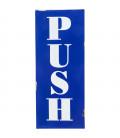 Cartel decorativo Push