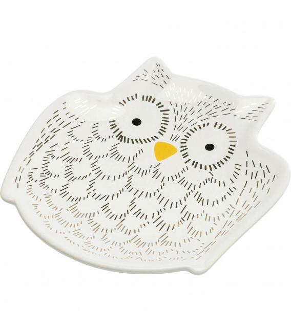 Cuenco decorativo Owl