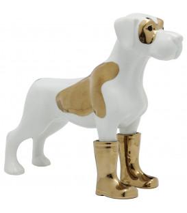Figura decorativa Dog in Boots mediana