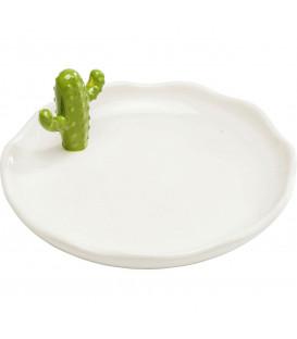 Objeto decorativo Plato Kaktus pequeño