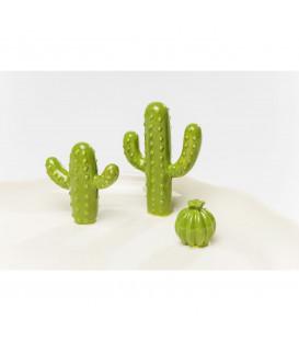 Objeto decorativo Plato Kaktus grande