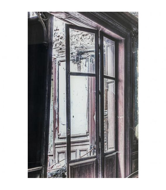 Cuadro cristal Vintage Piano Room 100x150cm