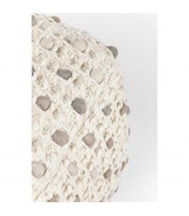 Taburete Pebbles natural 45x45cm