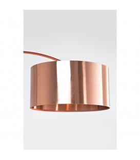 Lámpara de pie Gooseneck cobre