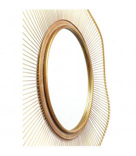 Espejo Sun Storm Gold 93cm