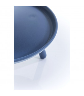 Mesa auxiliar Jacky azul Ø42cm