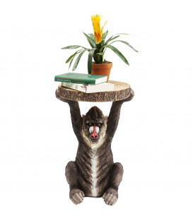 mesa auxiliar animal baboon