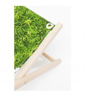Tumbona verde Meadow