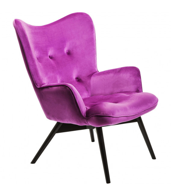 Butaca Vicky Velvet Purple