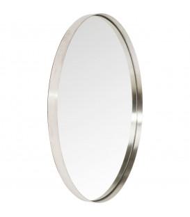 Espejo Curve Round Stainless Steel Ø100