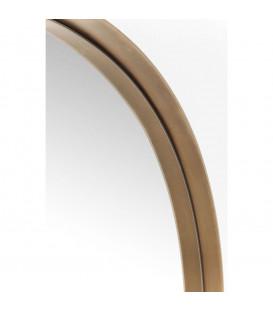 Espejo Curve Round cobre Ø100cm