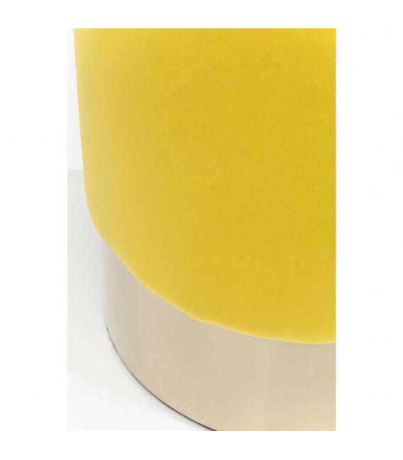 Taburete Cherry Amarillo Brass