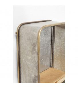 Espejo Curve Shelves 120x36cm