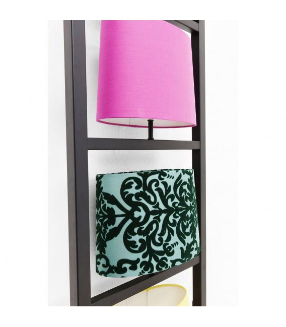 Lámpara pared Parecchi vertical negro