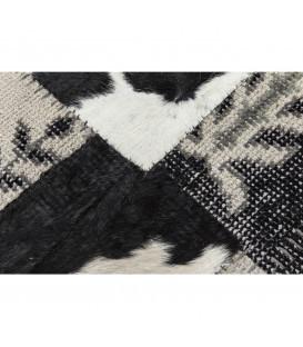Alfombra Square Mix It negro 170x240cm