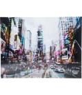 Cuadro cristal Time Square Move 120x160cm